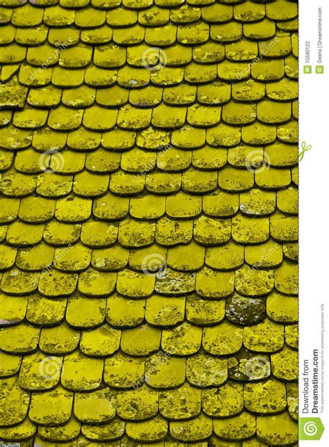 old yellow old yellow tile stock photography image 15590122