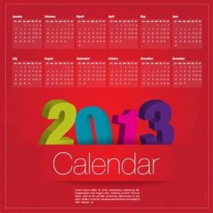 New year calander templates free and premium