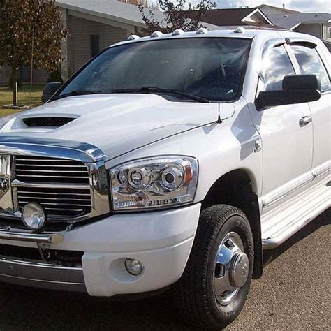 Recon Clear Led Cab Roof Lights Dodge Ram
