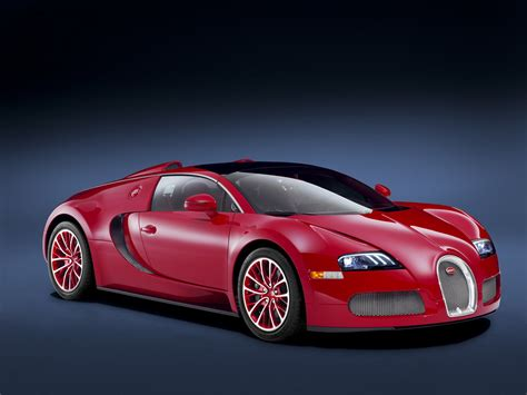 2011 Bugatti Veyron Grand Sport Red Edition Pictures