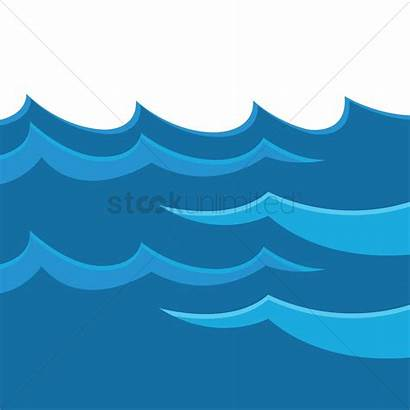Waves Water Vector Graphic Stockunlimited