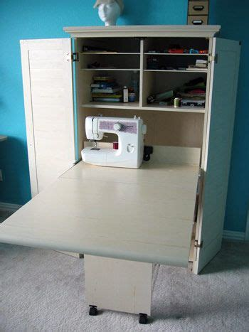 Sewing Machine Armoire Cabinet Sewing Armoire Extended In 2019 Sewing Sewing Room