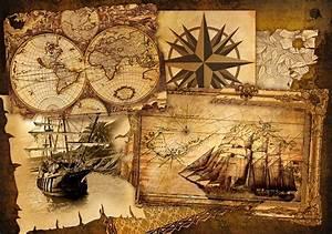 Affiche Carte Du Monde : poster affiche prix mini carte du monde marin pirate ~ Dailycaller-alerts.com Idées de Décoration