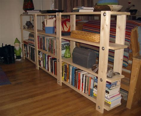 Cheap Bookcases by Cheap Easy Low Waste Bookshelf Plans