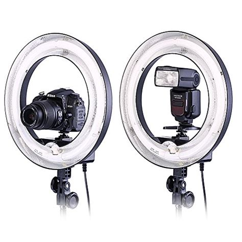 neewer ring light neewer 174 photo 14 quot outer 10 quot inner 400w 5500k