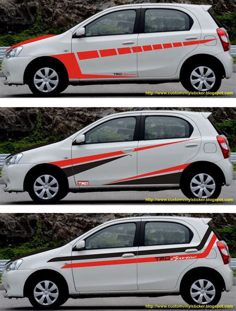 Avanza Veloz 2019 Hd Picture by Toyota Etios Veloz Black Striping Stickrenz