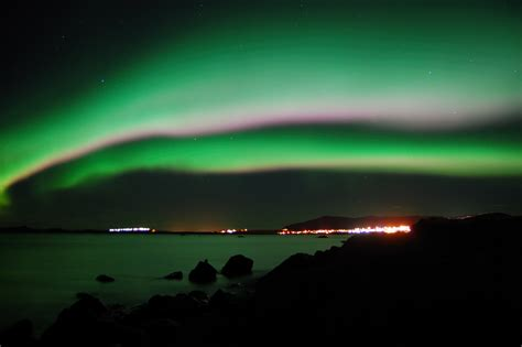 iceland in february northern lights spaceweather com february 2010 northern lights gallery