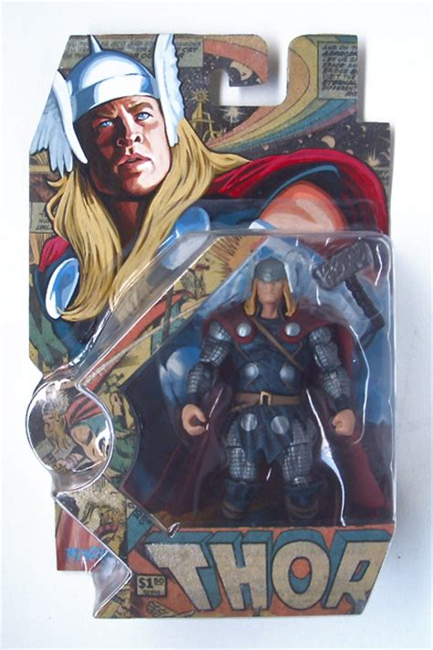 bootleg thor action figure package  storenvy