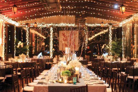 Barn Wedding Decorations : The Hottest New Look In Weddings Bridalguide