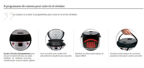 cuisiner avec un rice cooker seb rk302e00 cuiseur à riz rice and co 8 en 1 inox amazon