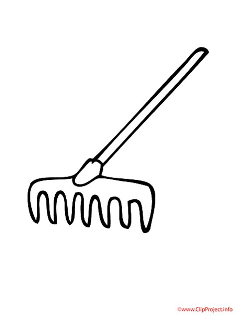rake clipart black and white rake clipart clipart suggest