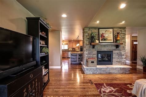 hometalk co kitchen and fireplace reno