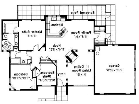 mediterranean home plans with photos mediterranean house plan carrizo 11 010 floor plan open