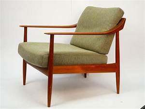 Stühle Im Eames Stil : teak sessel mid century scandinavian danish easy chair 60er 70er eames in m bel wohnen m bel ~ Indierocktalk.com Haus und Dekorationen