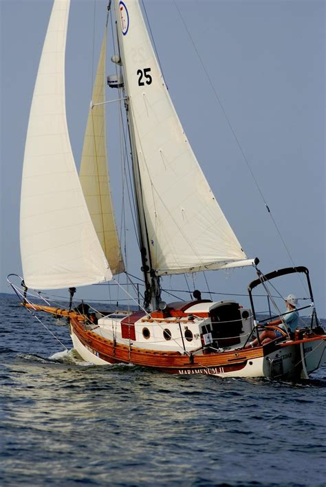 Sam S Boat Surveyors by 1985 Sam L Morse Falmouth Cutter 22 Sail Boat For Sale