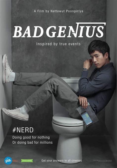 bad genius poster  bad genius   genius