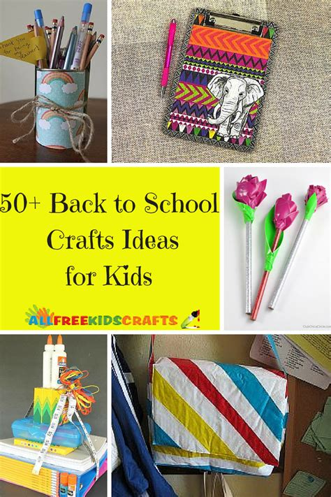 back to school art projects for preschoolers 50 back to school crafts ideas for 190