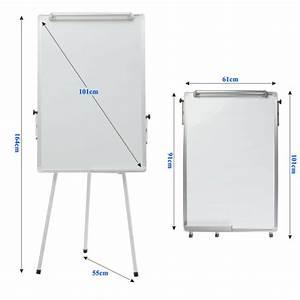 Whiteboard Mit Ständer : 100x65cm tragbares whiteboard stativ flipchart staffelei mit st nder neu ebay ~ Watch28wear.com Haus und Dekorationen