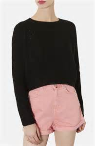 cropped black sweater topshop ribbed crop sweater where to buy how to wear