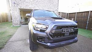 2020 Toyota Tacoma Trd Pro 6 Speed Manual Grey Walkaround