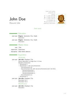 Cv Or Resume  Sharelatex, Online Latex Editor. Lebenslauf Xing Hochladen. Cover Letter Job Application Via Email. Lebenslauf Tex Template. Resume Maker Naukri. Good Cover Letter Examples 2018. Llenar Curriculum Vitae Gratis. Application Form For Employment In Anf. Muster Fortsetzen Spiel