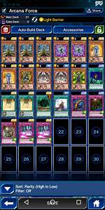 Deck, Any, Cards, That, Could, Improve, My, Arcana, Force, Deck, Duellinks