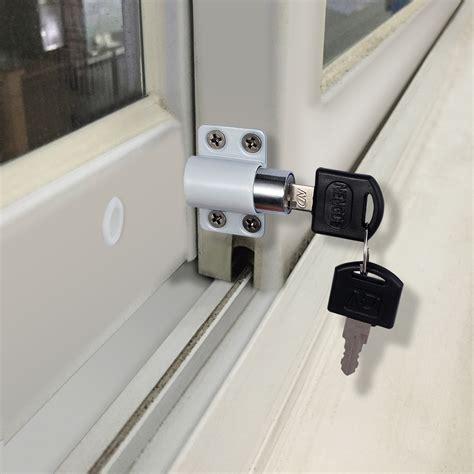 locks 171 doors windows 4x alloy sliding patio door window bolt locking catch push Door