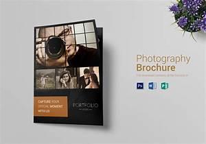 Photography Brochure Bi Fold Design Template in PSD, Word ...