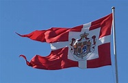 Danish Royal Standard Happy birthday to queen Margrethe ...