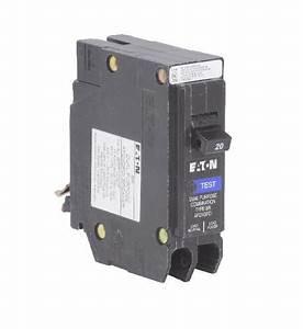 Eaton U00ae 20 Amp 1 Gfci Circuit Breaker At