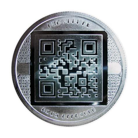 24 hour average rates : 1oz Silver Bitcoin Bullion Round | European Mint