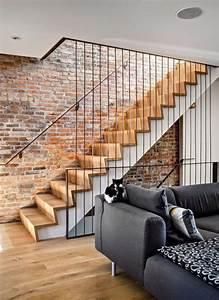 la brique rouge element deco principal du loft With idee de plan de maison 11 les briques de parement et les briques apparentes