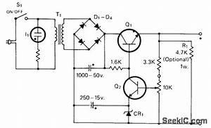 6 30 V At 500 Ma - Power Supply Circuit