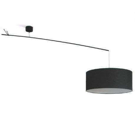 bureau blanc avec rangement suspension déportée lustre déporté design newton