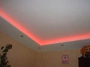 Led light ceiling design rgb mood with