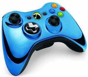 Microsoft Chrome Series Xbox 360 Controllers Announced