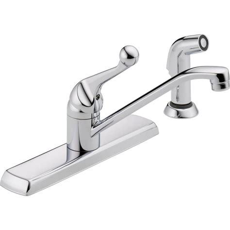 Delta Single Handle Kitchen Faucet by Delta Classic Single Handle Standard Kitchen Faucet With