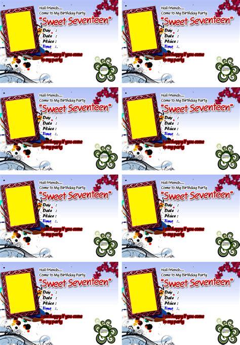 mewarnai gambar anak anak contoh kartu undangan ulang