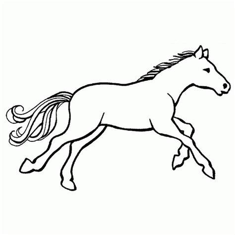 coloriage chevaux a imprimer gratuit coloring home