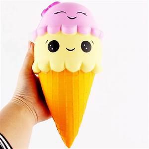 Squishy ice Cream Cone Jumbo 22cm Slow Rising Soft