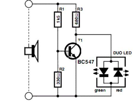 Simple Audio Power Meter Circuit Electronic Circuits Diagram