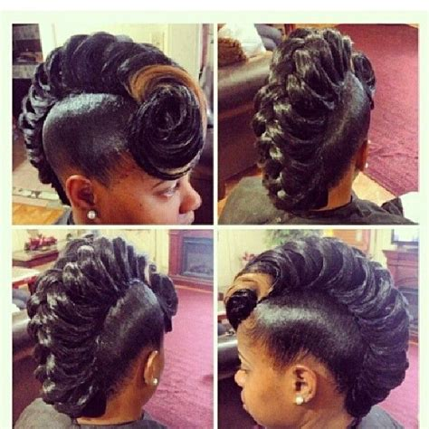 black soft wave hairstyles hair