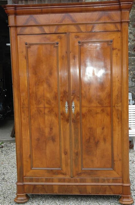 wardrobes louis philippe antiques in france