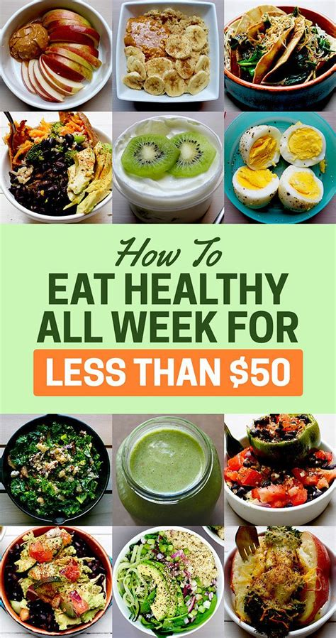 heres   eat healthy   week