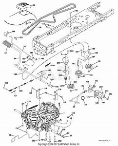 32 Poulan Pro Riding Mower Drive Belt Diagram