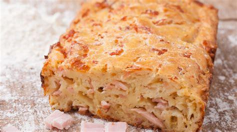 recette de cuisine traditionnelle recette de cake salé aux carottes et au jambon