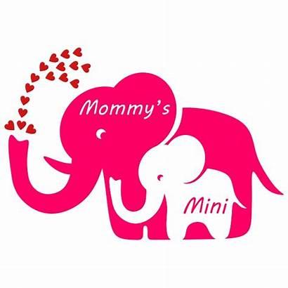 Elephant Designs Mother Svg Cuttable Mama Cricut