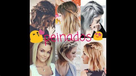 BEAUTIFUL HAIRSTYLES FOR SHORT HAIR/ HERMOSOS PEINADOS