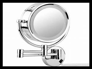 Miroir Grossissant Lumineux X10 : miroir grossissant x10 pas cher miroir lumineux pas cher ~ Dailycaller-alerts.com Idées de Décoration