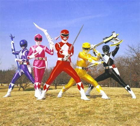how power rangers my the back porch